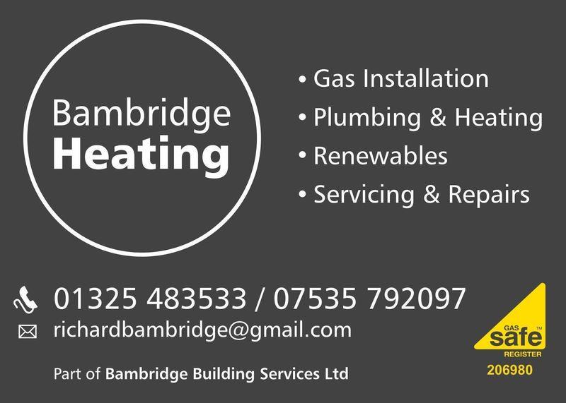 Gallery large bambridge heating sign