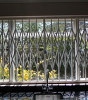 Square thumb window grill for kitchen muswell hill london